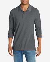 Eddie Bauer Men's Field Long-Sleeve Polo Shirt