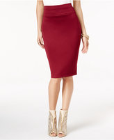 Thalia Sodi Scuba Pencil Skirt, Only at Macy's