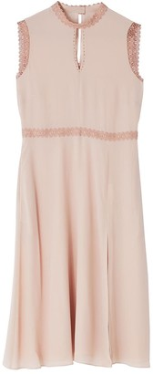 Ethereal London Portia Plain Knee Length Dress