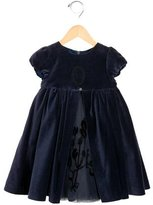 Tartine et Chocolat Girls' Velvet A-Line Dress w/ Tags