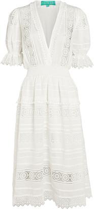 Waimari Lumiere Lace Midi Dress