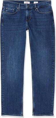 S'Oliver Women's Onlgita Reg S/s Top Box Co/p JRS Straight Jeans