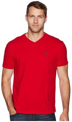 Polo Ralph Lauren Classic Fit V-Neck T-Shirt (RL2000 Red) Men's T Shirt