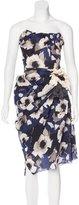 Lanvin Silk Matelassé Dress
