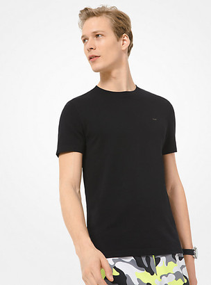 Michael Kors Cotton T-Shirt - Black