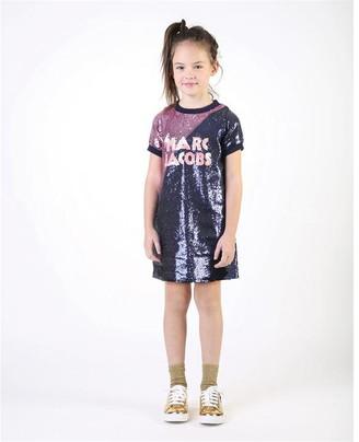 Little Marc Jacobs Girls Multicoloured Dress