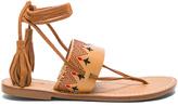 Soludos Flat Lace Up Sandal