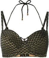 Marlies Dekkers Holi Vintage plunge balcony bikini top D-size +
