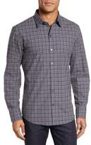 Zachary Prell Men's Robbins Slim Fit Check Sport Shirt