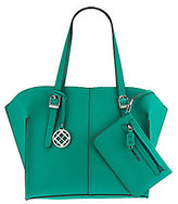 London Fog Graham Tote with Clutch Accessory