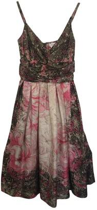Collette Dinnigan Pink Silk Dress for Women