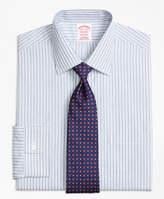 Brooks Brothers Non-Iron Milano Fit Split Stripe Dress Shirt