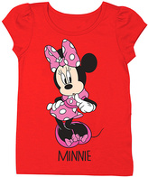 Freeze Red Cherry Minnie Mouse Cap-Sleeve Tee - Toddler & Girls