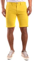 Sun 68 Men's Yellow Cotton Shorts.