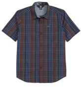 Volcom Boy's Hugo Plaid Woven Shirt