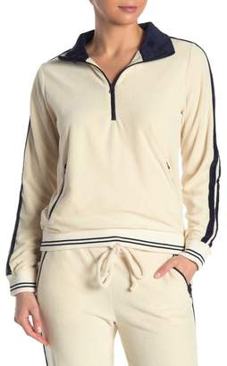 Faherty BRAND Richie Quarter Zip Sweater