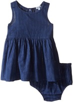 Splendid Littles Tie-Dye Tank Top with Lurex Stripe Dress Girl's Dress