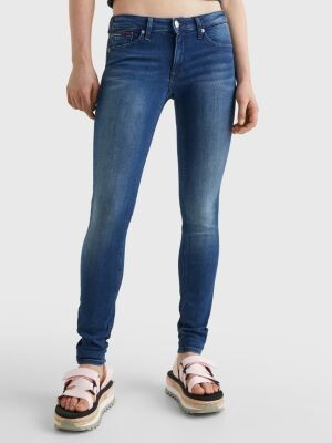 Tommy Hilfiger Sophie Low Rise Skinny Faded Jeans
