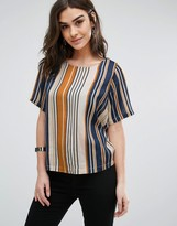 Vila Striped Top
