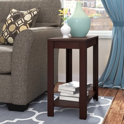 Winston Porter Sams End Table With Storage Shopstyle