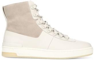Vince Rowan Leather High-Top Sneakers
