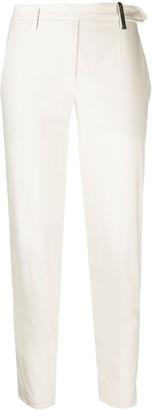 Brunello Cucinelli Monili-chain tapered trousers