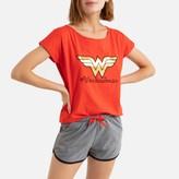 Wonder Woman Cotton Mix Short Pyjamas