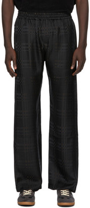 Cmmn Swdn Black and Brown Check Kylo Trousers
