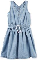 Carter's Chambray Cotton Dress, Little Girls (2-6X) & Big Girls (7-16)