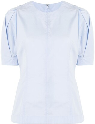 3.1 Phillip Lim Ss Top With Back Zip
