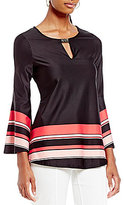 Investments Flare Sleeve weith Hardware Top