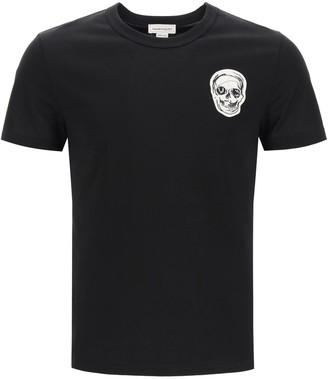 Alexander McQueen Skull Patch T-Shirt