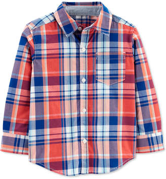 Carter's Carter Toddler Boys Cotton Plaid Shirt