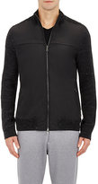 Vince MEN'S TECH-FABRIC & WAFFLE-KNIT SWEATER JACKET