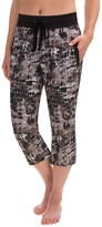 RBX Printed Woven Capris (For Women)