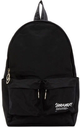 Off-White Black Quote Backpack
