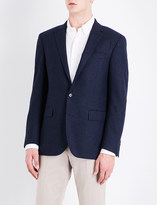 Polo Ralph Lauren Houndstooth custom-fit wool jacket