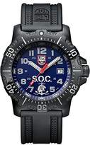 Luminox LSOC Spec Ops Challenge Set ANU Men's Quartz watch with Blue dial featuring LLT light Technology 45 millimeters Stainless Steel case and Black PU Strap XS.4223.SOC.SET