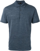 Corneliani classic polo top - men - Silk/Linen/Flax - 48
