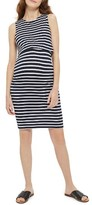 Topshop Women's Stripe Maternity/nursing Dress