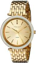 Johan Eric Women's JE-F1000-02-002B Fredericia Analog Display Quartz Gold Watch