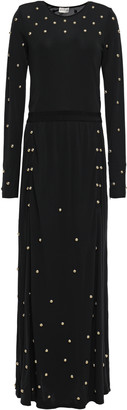 By Malene Birger Studded Jersey Maxi Dress