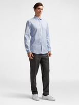 DKNY Rounded Hem Dress Shirt