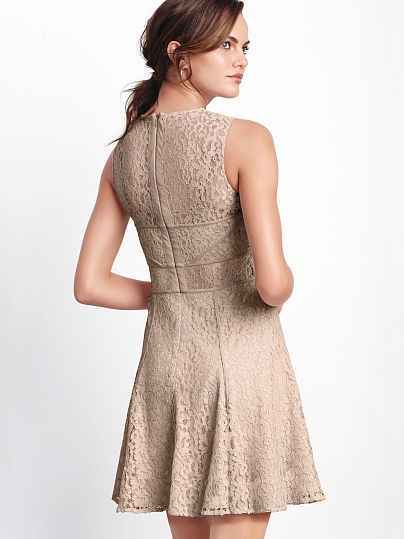 Victoria's Secret Fit-and-flare Lace Dress