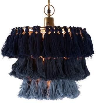Selamat Designs Justina Blakeney 1 - Light Unique / Statement Tiered Pendant Designs Shade Color: Indigo Ombre