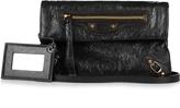 Balenciaga Classic Mini Envelope leather clutch