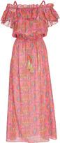 Figue Maya Ruffle Midi Dress