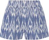 Alice + Olivia Woven cotton shorts