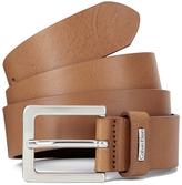 Calvin Klein Mino Leather Belt Cognac
