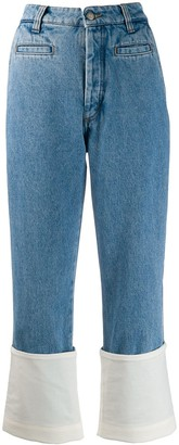 Loewe Fabric Mix Jeans